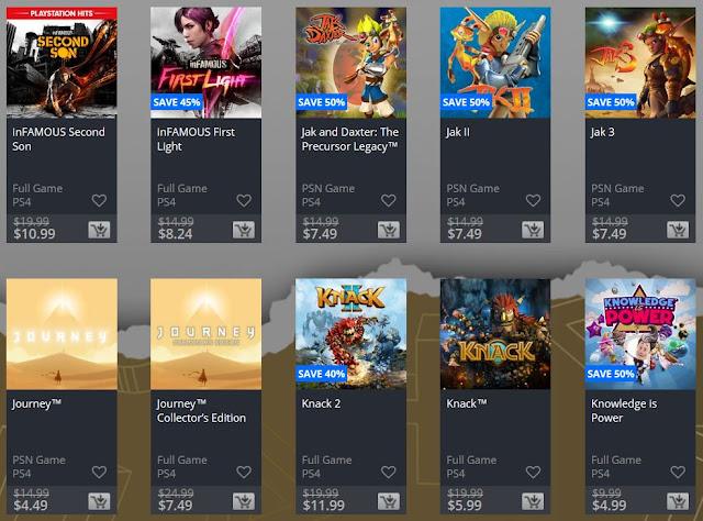 سوني تطلق أكبر حملة تخفيضات على متجر PlayStation Store ، إليكم القائمة من هنا ..