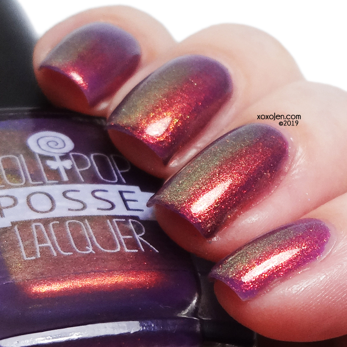 xoxoJen's swatch of Lollipop Posse Dulcet