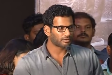 Nungambakkam Audio launch Vishal Speech