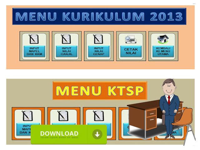 Aplikasi Buku Induk Siswa & Cetak Nilai Raport KTSP dan kurikulum 2013