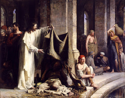 The miracles of Jesus are an expression of the love of God for all of us: Photo