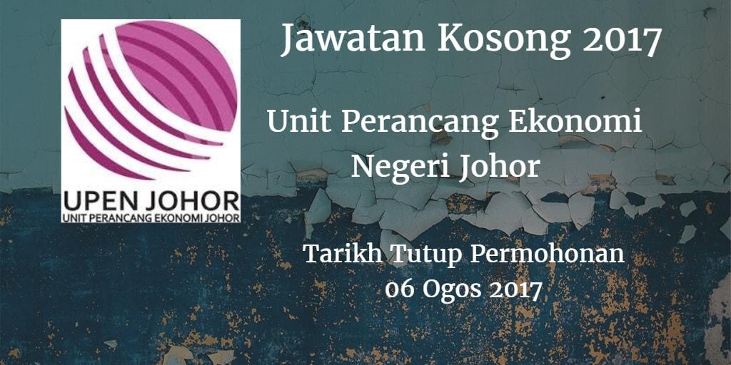 Jawatan Kosong UPENJ 06 Ogos 2017