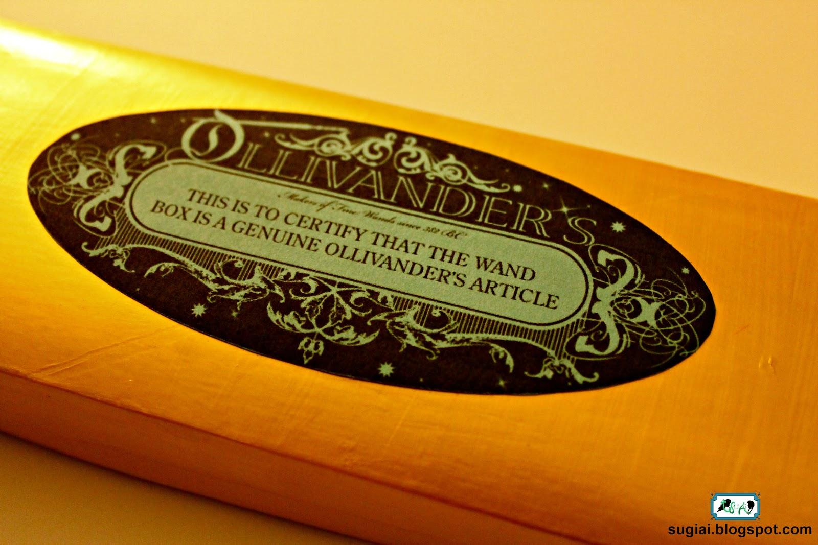 SugiAi  DIY Harry Potter Wand Boxes ef1c45f15949