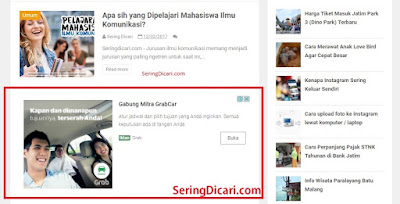 Cara Memasang Iklan In-Feed Ads Google Adsense Terbaru