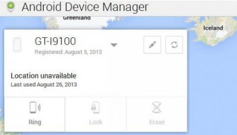 Mencari Lokasi Ponsel yang Hilang dengan Android Device Manager