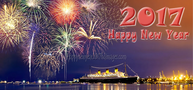 Happy New Year 2017 HD Firework Wallpapers Download Free