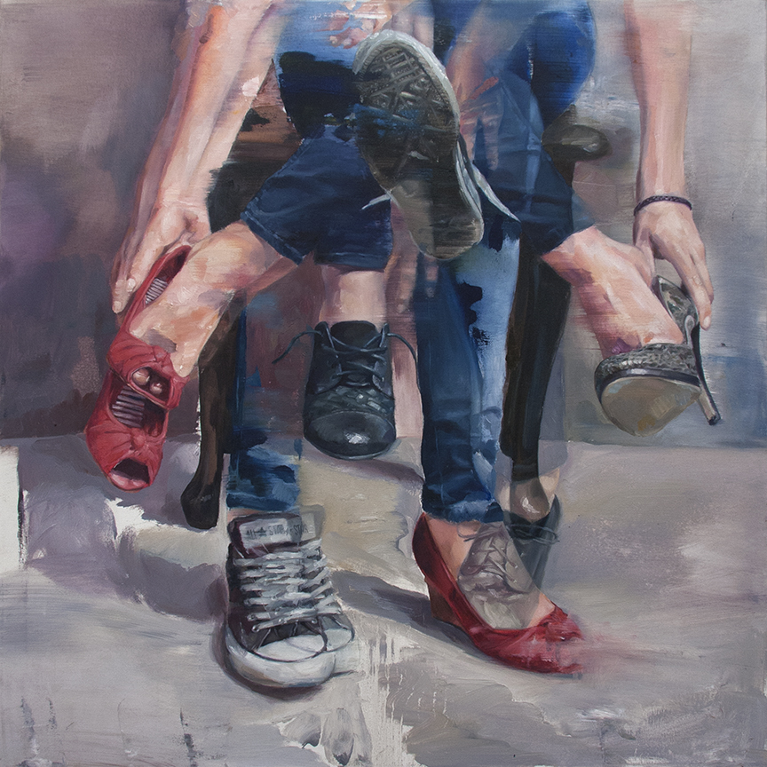 ©Adam Lupton - What's in store for me in the direction I don't take?. Pintura | Painting