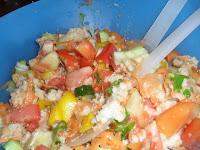 panzanella vegan ricetta come prepararla
