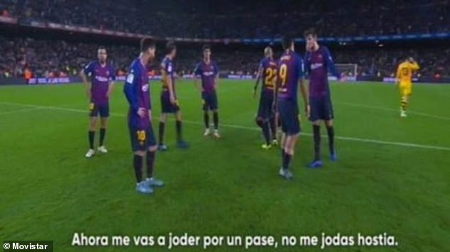 'Do not f*** with me' - Barca's Suarez Loses His Cool With Team-Mate Pique After Shock Defeat To Real Betis