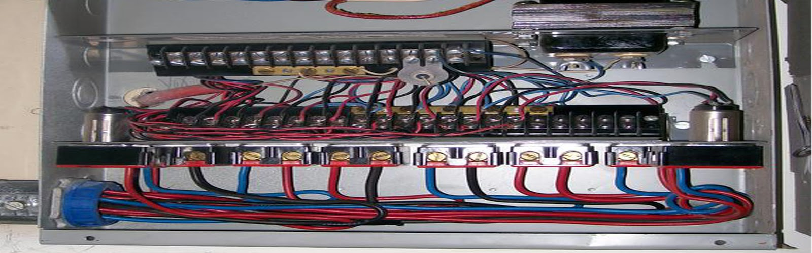 offering conventional electrical services such as adding circuits and trouble shooting as well as less conventional services including low voltage wiring  [ 1600 x 500 Pixel ]
