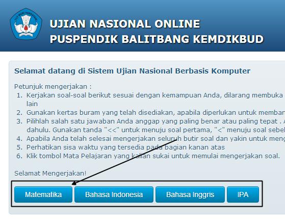 Program Aplikasi Mini Tes Untuk Ujian Nasional Online Puspendik Balitbang Data Sekolah