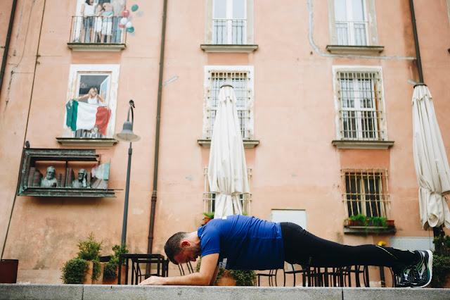 core stability plank e corsa
