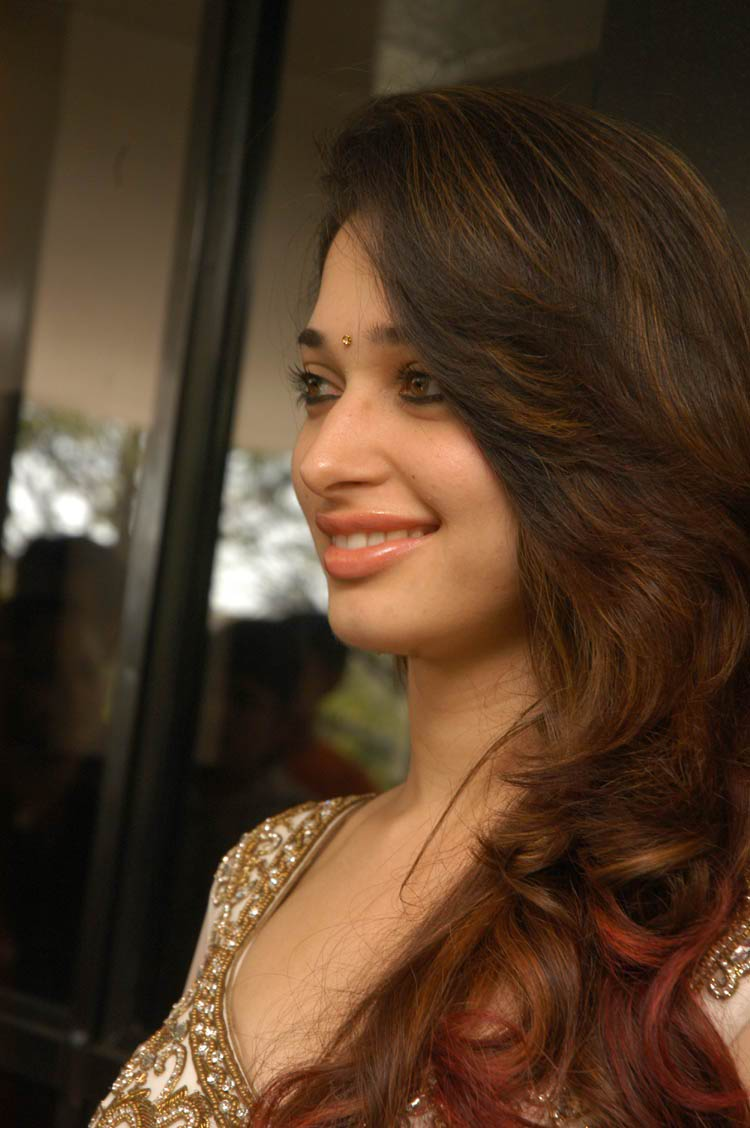 Tamanna Looking hot in white transparent dress | Tamanna ...