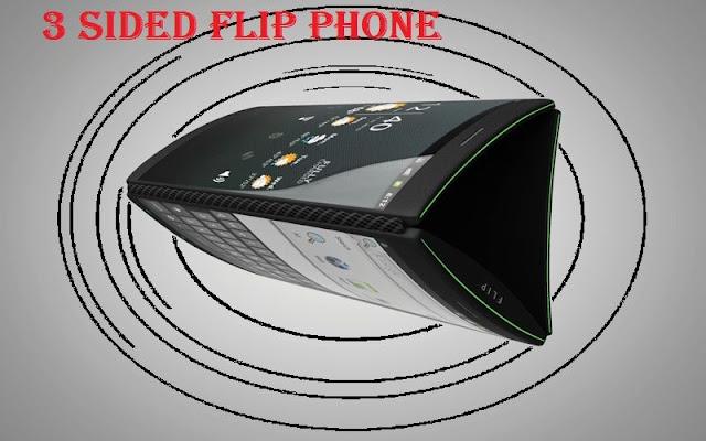 3 Sided Flip Phoneهاتف