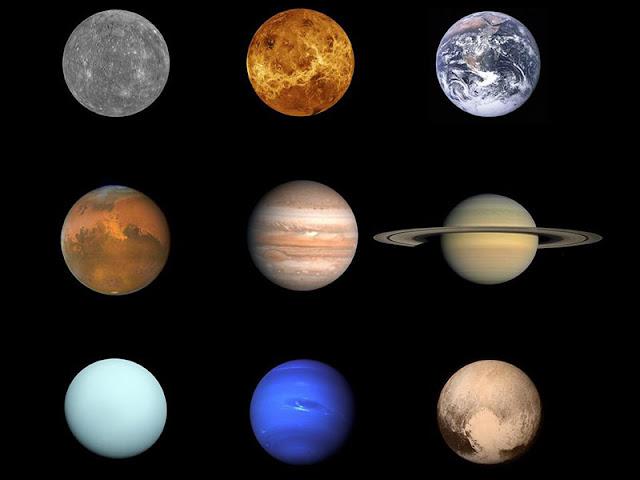 Finalmente temos uma foto da família do sistema solar