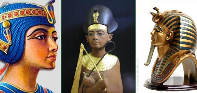 Como hacer coronas reales disfraz egipcio
