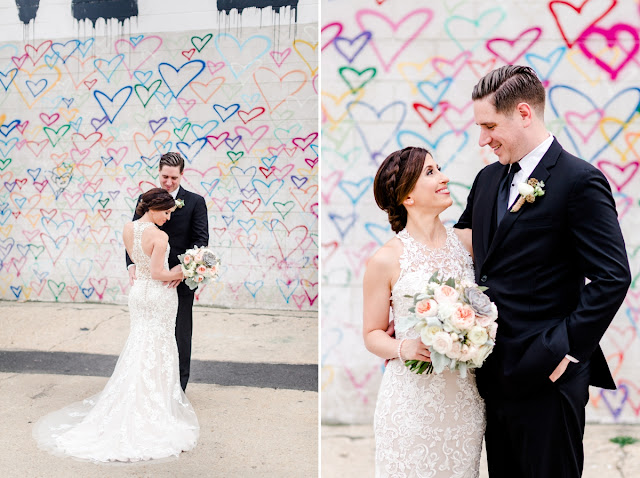 Washington DC Wedding at Union Market photographed by Heather Ryan Photography