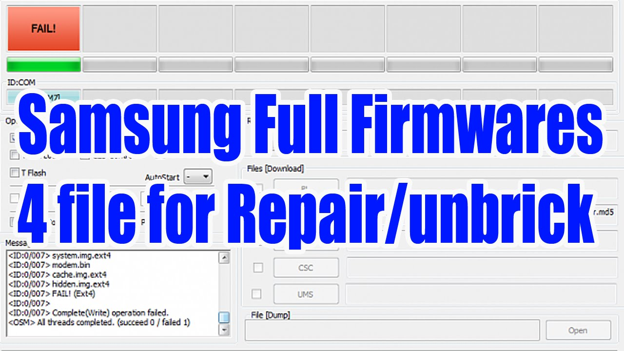 Full Roms ( 4 files ) for all Samsung Devices | MyMobileTips