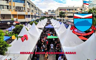 Senarai Bazar Ramadhan Sabah 2019 (Lokasi)