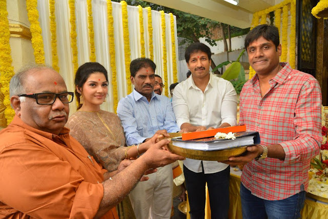 Gopichand new movie launched photos
