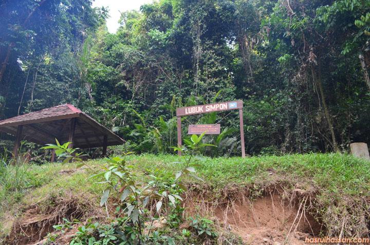 Lubuk Simpon, Taman Negara Pahang