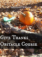 How to Give Thanks with an Obstacle Course