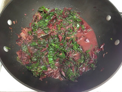Beet Greens with Anchovies - chieffamilyofficer.com