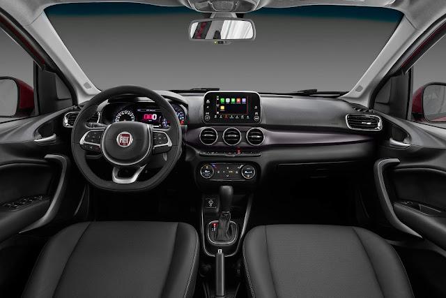 Novo Fiat Cronos 2019