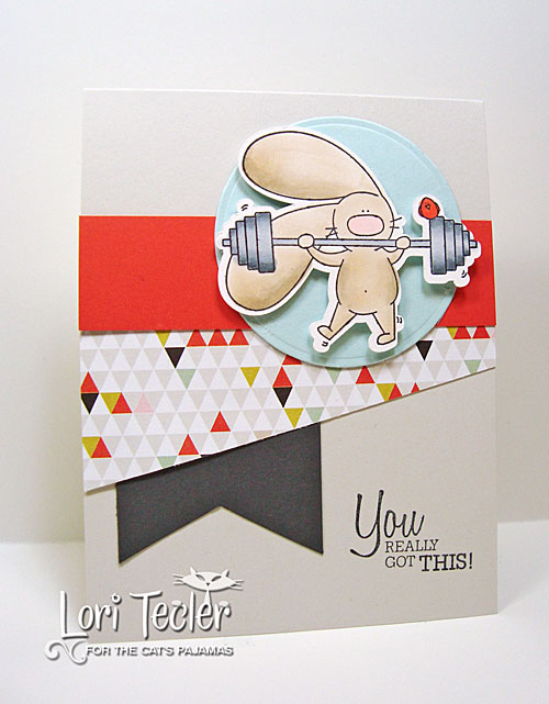 You Really Got This card-designed by Lori Tecler/Inking Aloud-stamps from The Cat's Pajamas