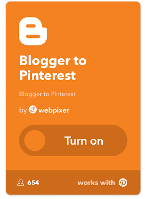 Scrivere in automatico da Blogger a Pinterest