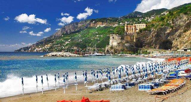 Roteiro pelo sul da Itália em Maiori