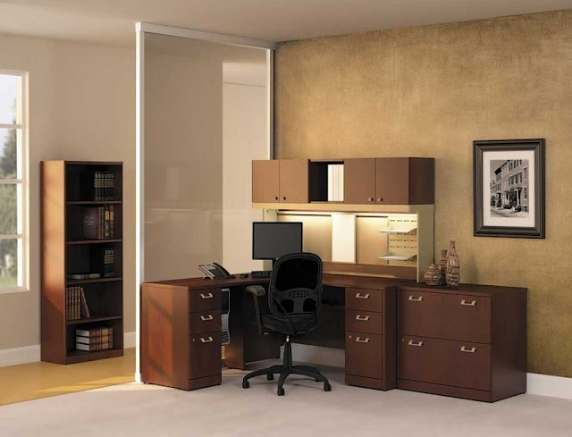 best buy wood home office furniture with file cabinets for sale
