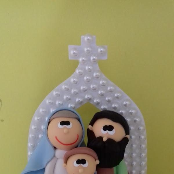 Sagrada Família no Oratório de Pérolas