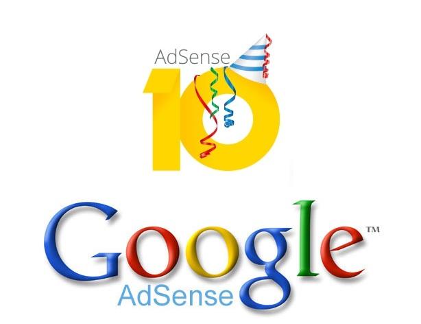 جوجل أدسنس تحتفل بـ 10 سنوات على ميلادها
