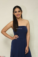 Radhika Mehrotra in sleevless Strap less Blue Gown At Prema Entha Madhuram Priyuraalu Antha Katinam Movie Interview ~  Exclusive 095.JPG
