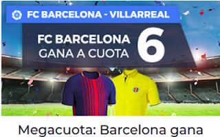 Paston Megacuota para Liga Santander: Barcelona vs Villarreal 9 mayo