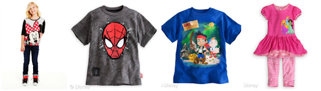 Boys and Girls Fashions Inspired By Popular Disney Characters; Books and Apps to Kick Start Learning