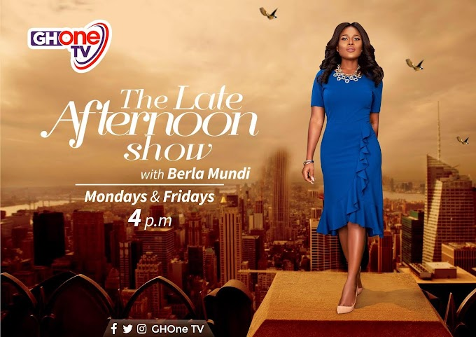 Berla Mundi host new show, 'The Late Afternoon Show' on GhOne TV