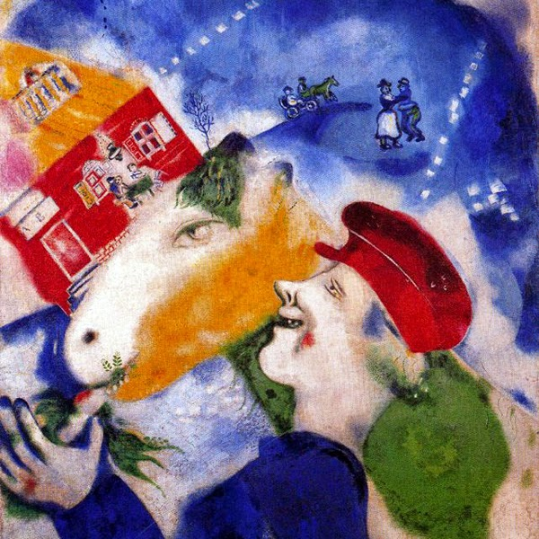 Vida Rural - O Surrealismo glorioso de Marc Chagall