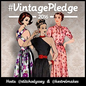 Vintage pattern pledge 2016