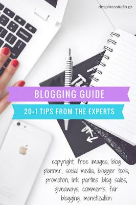 Οδηγός blogging 20+1 συμβουλές από τους ειδικούς