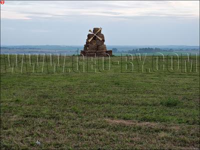 Соломенная фигура к Дожинкам. Ветрянная мельница