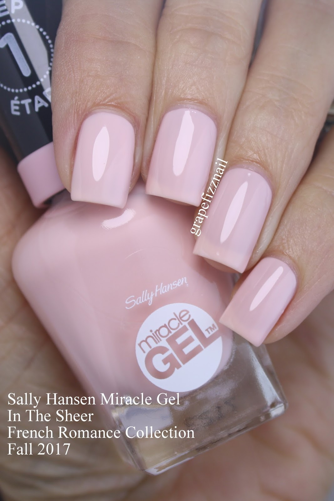 Grape Fizz Nails: New! Sally Hansen Miracle Gel Fall 2017