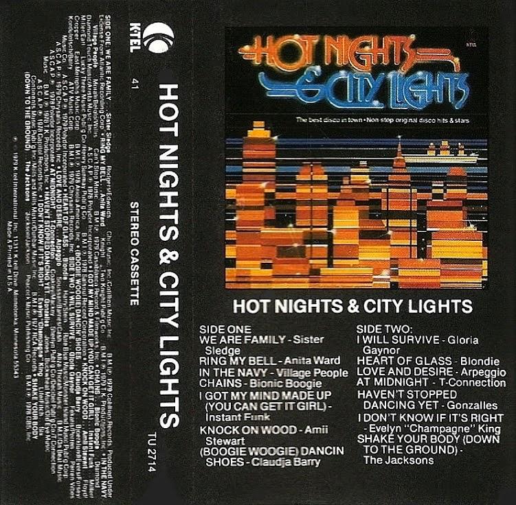 K Tel Kollection 1973 1983 Hot Nights Amp City Lights 1979