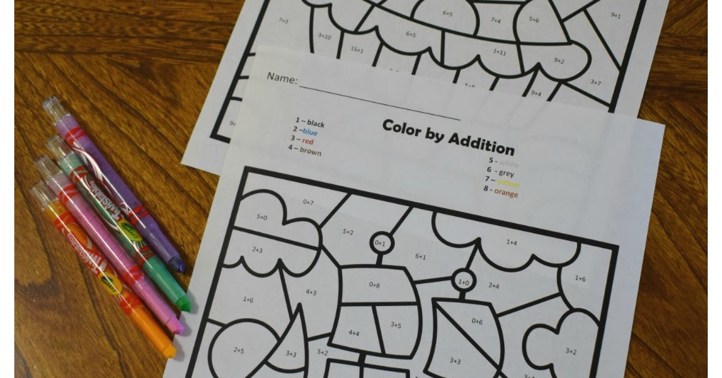 Free Turkey Coloring Pages For Kindergarten : Kindergarten worksheets and games: free thanksgiving color by addition