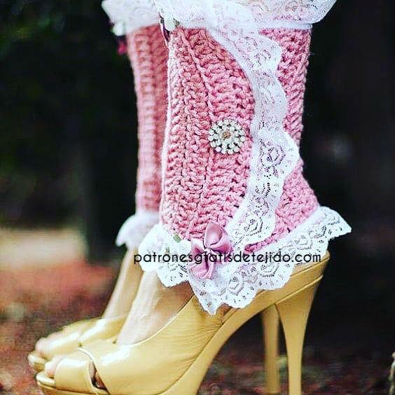 como-tejer-calentadores-para-piernas-con-dos-agujas-o-crochet
