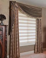 Kruvaze fon perde ile birlikte zebra stor perdeden oluşan oda perdesi modeli