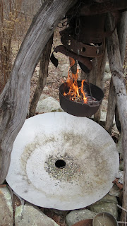 fire well and tree
