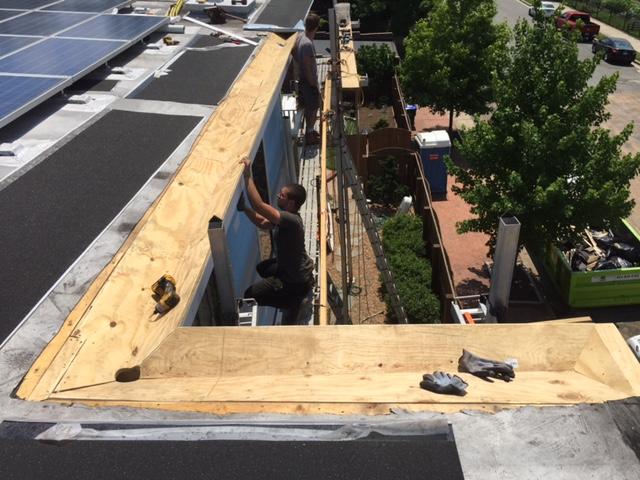 Restoration Builders Of Virginia Built In Gutter