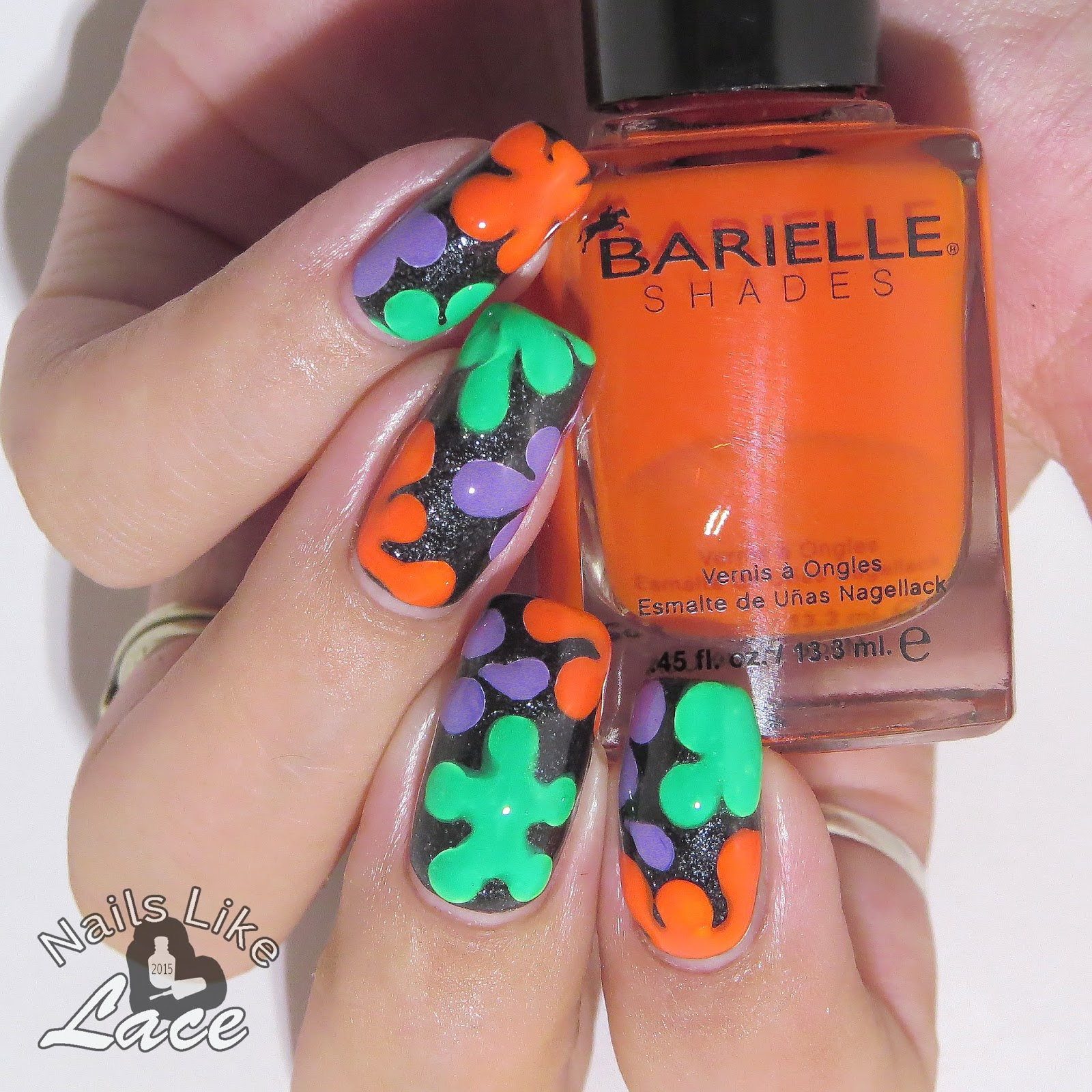 NailsLikeLace: 40 Great Nail Art Ideas - Orange, Purple ...